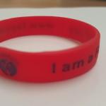 Wrist Band, Red