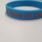 Wrist Band, Aqua